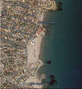 Paseo desde Playa Capitan en Cabo Roig hasta Cala Cerrada en La Zenia