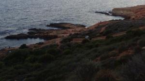 Playa Fósil en Cabo Roig