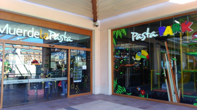 Restaurante buffet Muerde la Pasta en La Zenia Boulevard