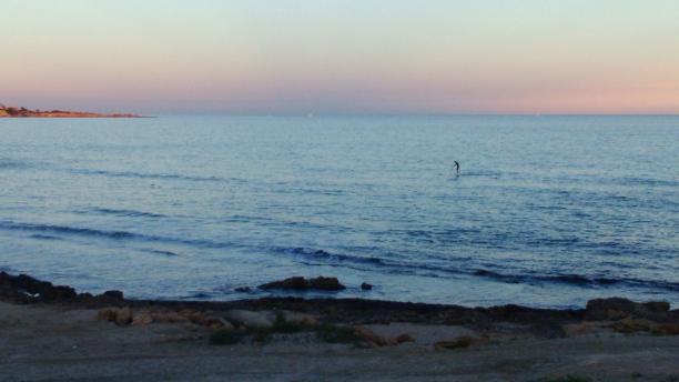 Paddel surf en Cala La Mosca