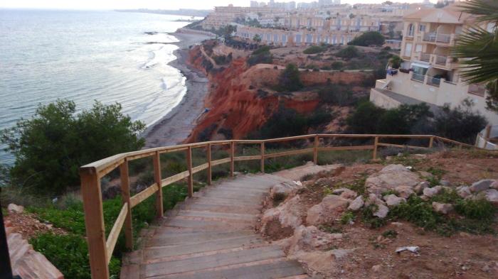 Calas de Aquamarina, entre Cabo Roig y Campoamor
