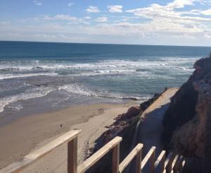 Paseo junto al mar desde Cala Capitán hasta Playa Cabo Roig