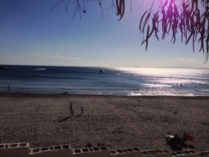 playa cabo roig en diceimbre