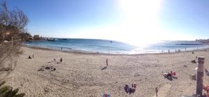 playa cabo roig vista panoramica