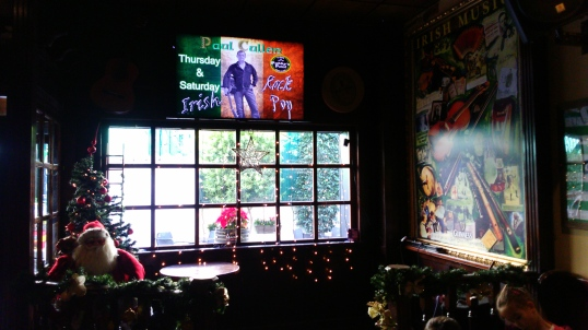 Interior de Paddy's point en el strip de La Zenia