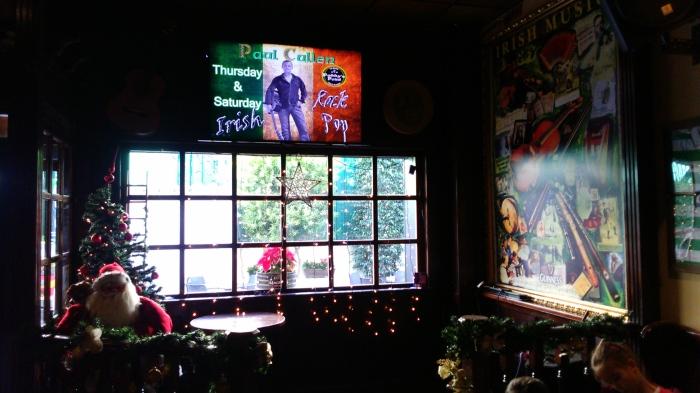 Interior de Paddy's point en el strip de La Zenia