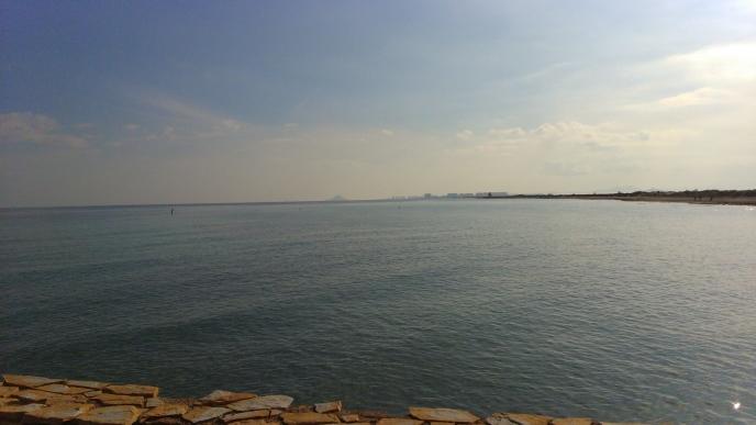 Vistas al mar desde Punta Prima