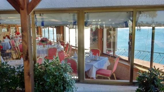 restaurante Cabo roig vistas al mar