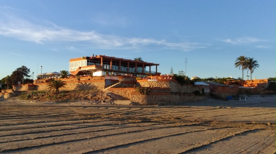 Restaurante La Mirada en Playa La Zenia