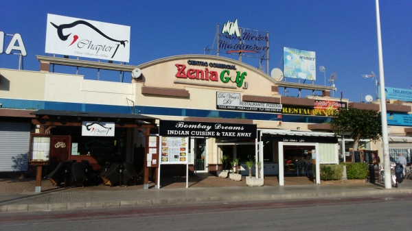 El strip de La Zenia