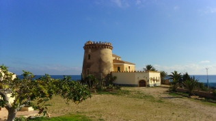 torre de la horadada en Pilar de la horadada cerca de cabo roig