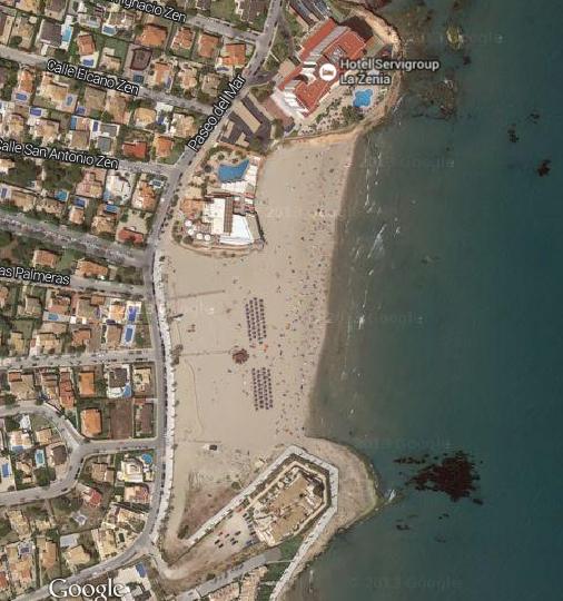 Playa El Bosque La Zenia