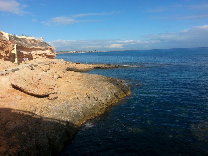 Paseo desde Playa Capitán hasta Playa cabo Roig