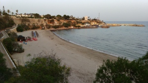 vista general de playa cabo roig