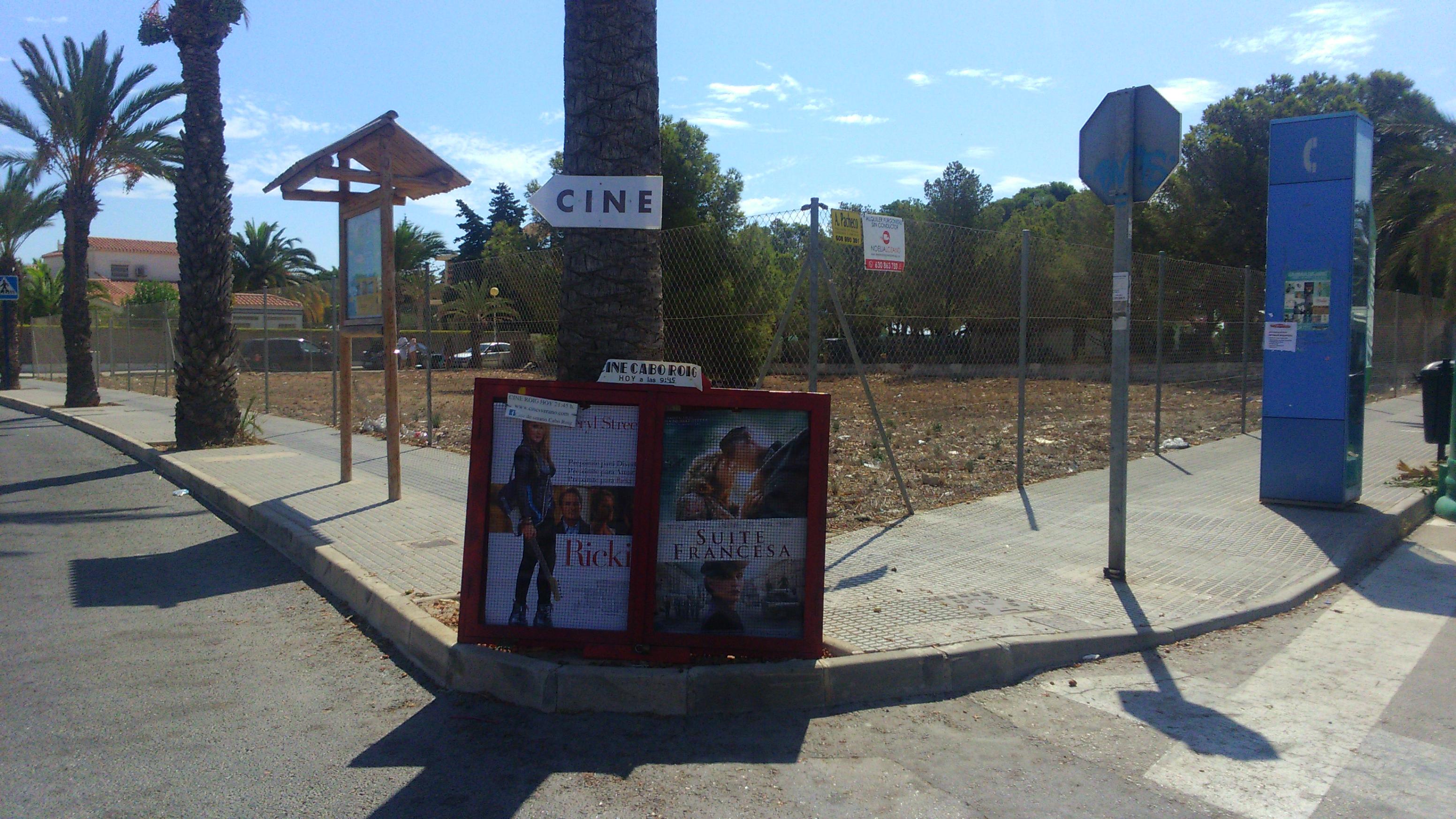 1 cartel del cine CAbo roig