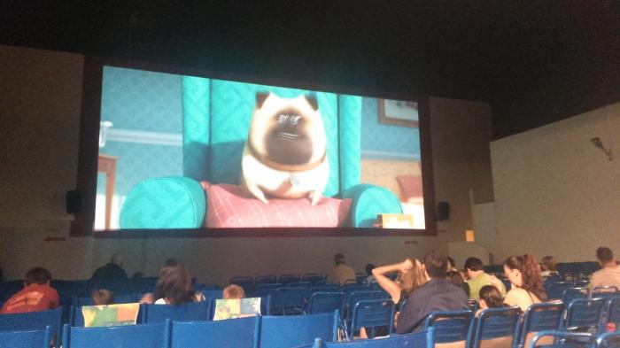 1 cine cabo roig pantalla iluminada