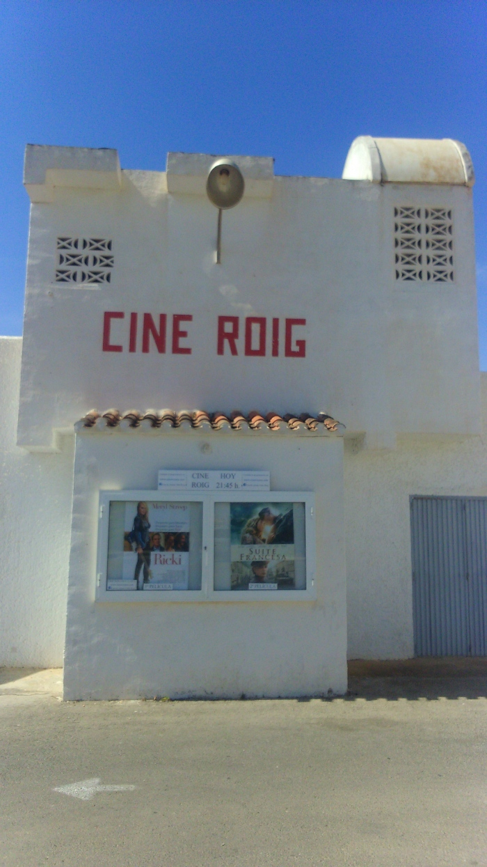 taquillas del cine de verano cabo roig