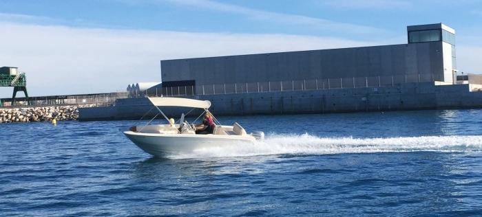 Barco 6 metros alquilar en CAbo Roig