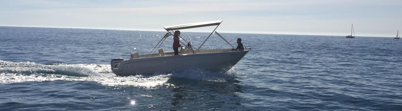 Alquiler barca motora en CAbo Roig 6 metros