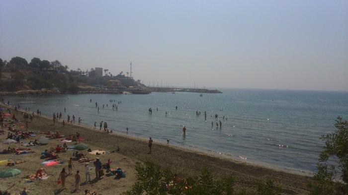 Día de playa en Semana santa cabo roig
