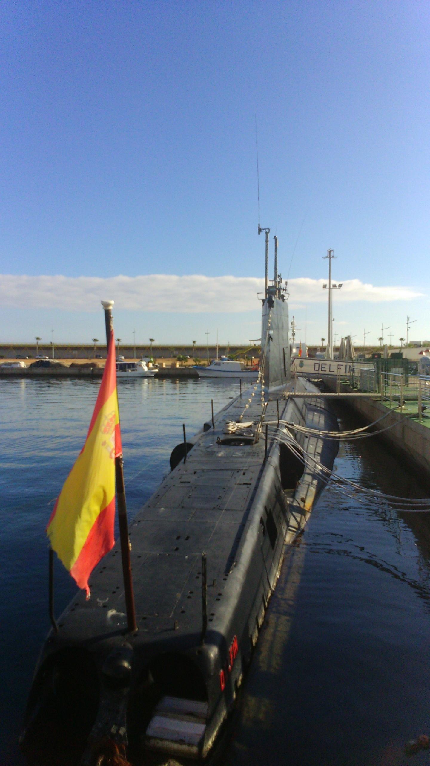 Submarino Delfín en Torrevieja
