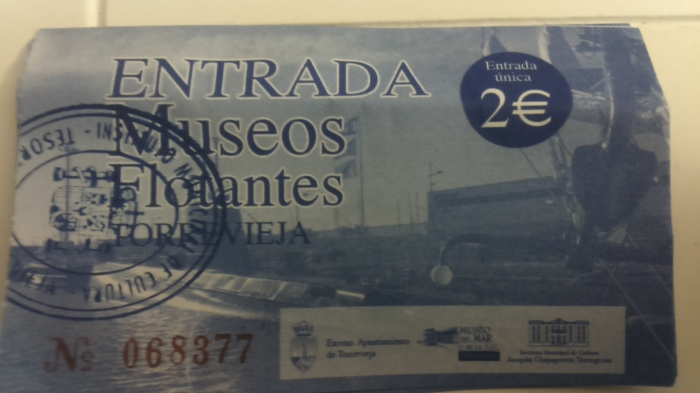 Precio museo flotante Torrevieja