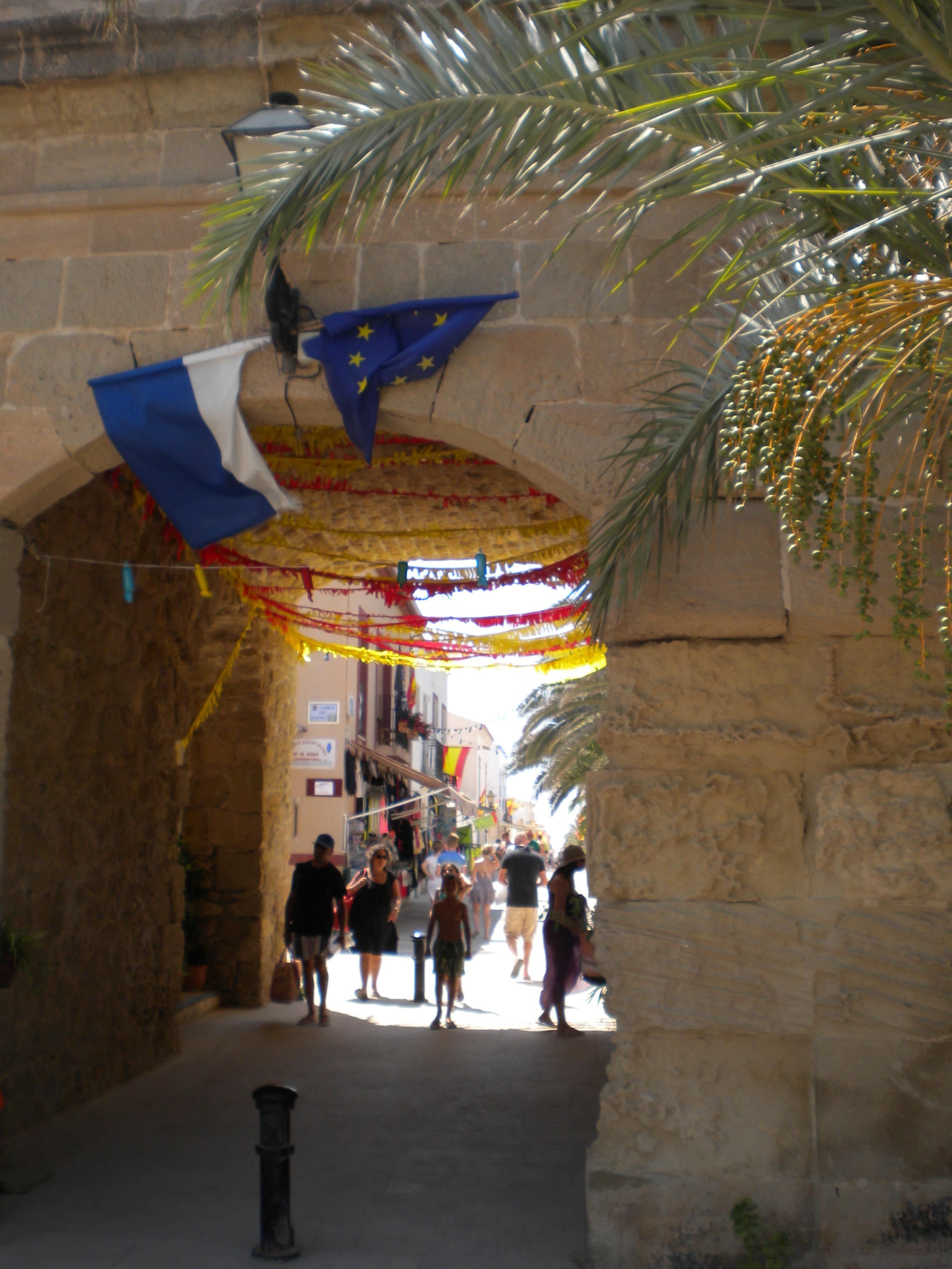 puerta muralla NUeva tabarca