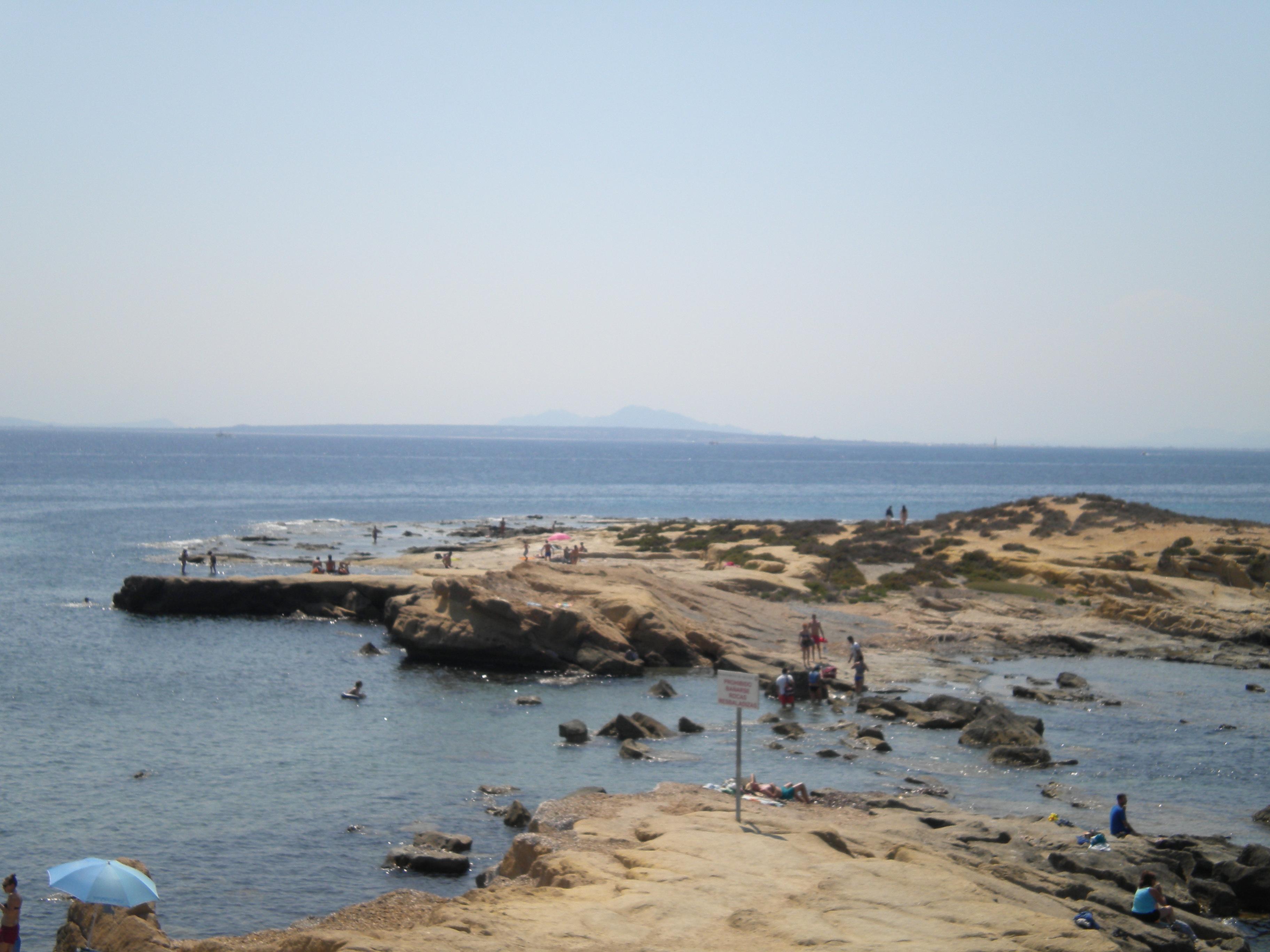 litoral de Isla Nueva Tabarca